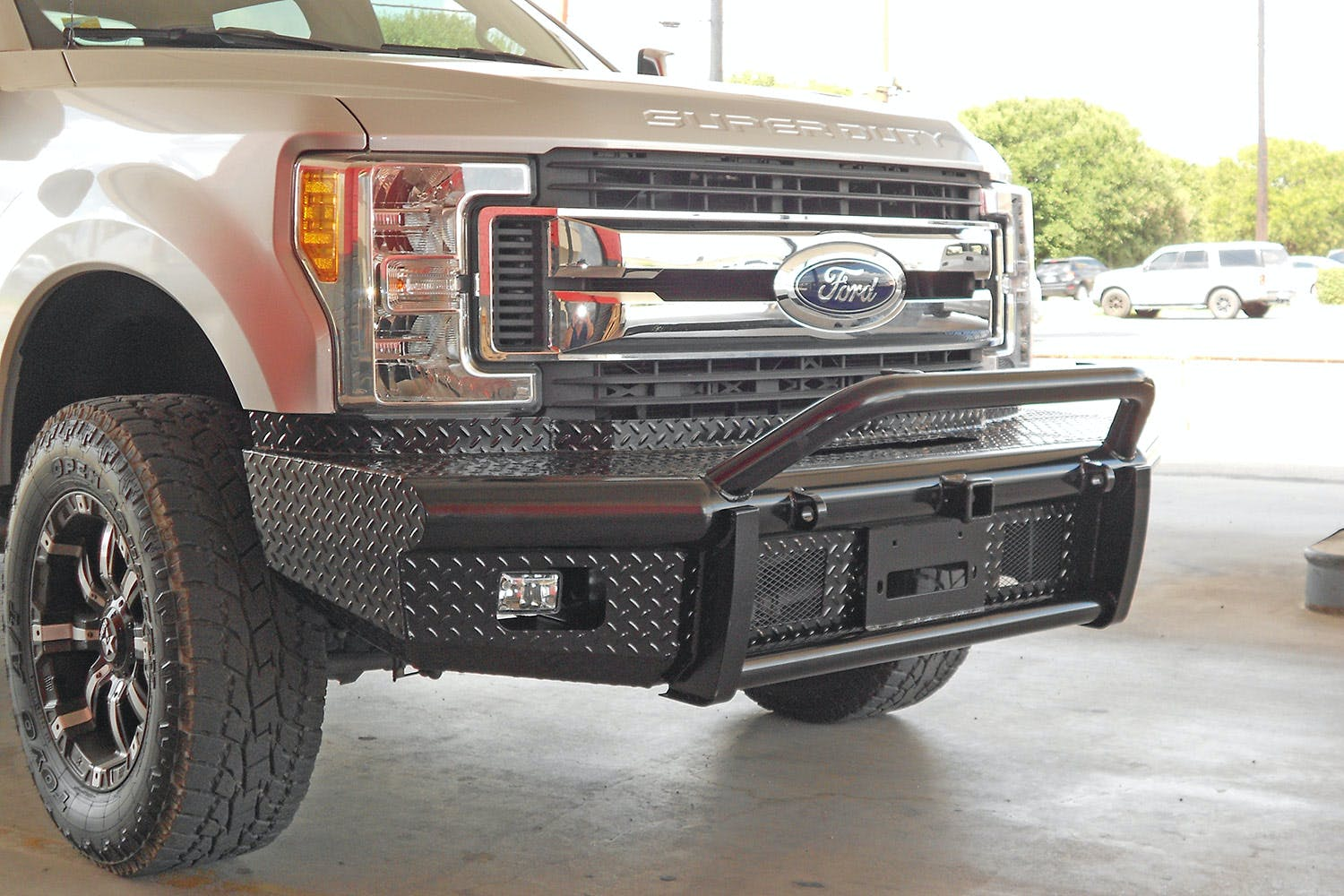 Elevation Bullnose Bumpers