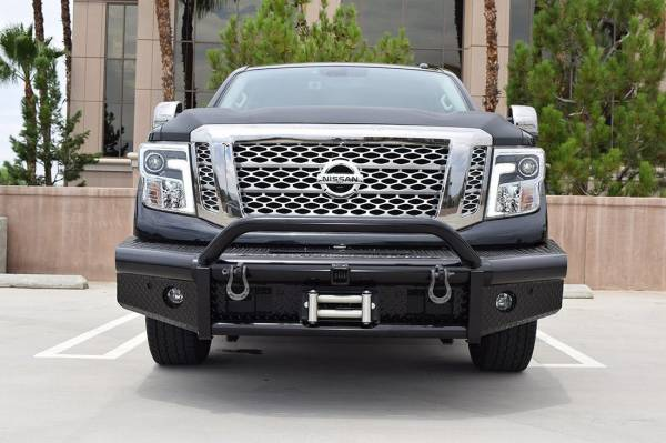 Steelcraft - Steelcraft 55-14080 HD Bullnose Front Bumper, Black