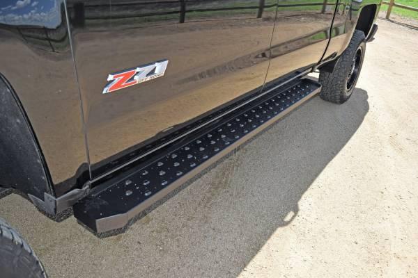 Steelcraft - Steelcraft 600-02210 STX600 Running Boards, Black