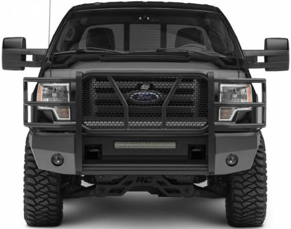 Steelcraft - Steelcraft 60-11360 Elevation Front Bumper, Fine Textured Black