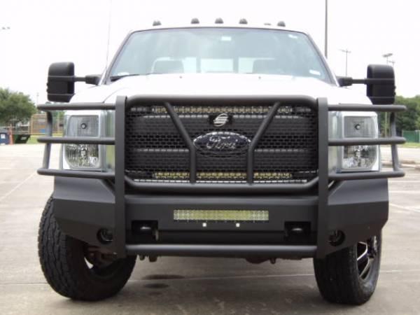 Steelcraft - Steelcraft 60-11370 Elevation Front Bumper, Fine Textured Black