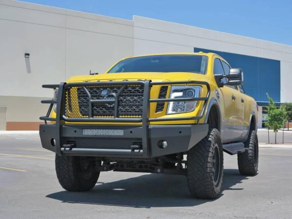 Steelcraft - Steelcraft 60-14080C Elevation Front Bumper, Fine Textured Black