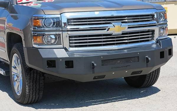 Steelcraft - Steelcraft 71-10400 Fortis Front Bumper, Textured Black