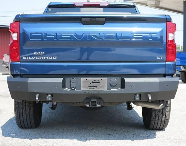 Steelcraft - Steelcraft 76-20490 Fortis Rear Bumper, Textured Black