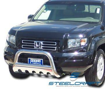 Steelcraft - Steelcraft 75010 Bull Bar, Stainless Steel