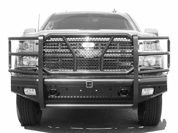 Steelcraft - Steelcraft HD10420R HD Front Bumper Replacements - Standard, Black
