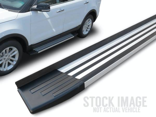 Steelcraft - Steelcraft 200-23200 STX200 Running Boards, Aluminum