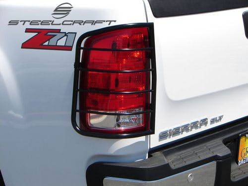 Steelcraft - Steelcraft 30370 Taillight Guards, Black