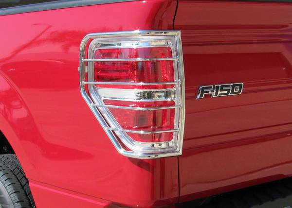 Steelcraft - Steelcraft 31367 Taillight Guards, Stainless Steel