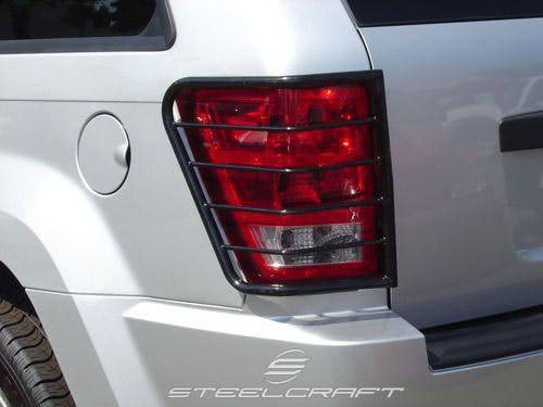 Steelcraft - Steelcraft 32130 Taillight Guards, Black
