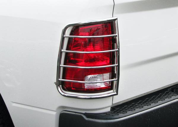 Steelcraft - Steelcraft 32257 Taillight Guards, Stainless Steel