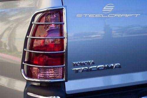 Steelcraft - Steelcraft 33257 Taillight Guards, Stainless Steel
