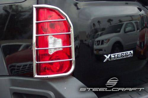 Steelcraft - Steelcraft 34120 Taillight Guards, Black