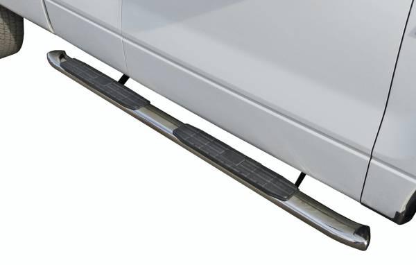 Steelcraft - Steelcraft 40-14207 4X Series Sidebars, Stainless Steel