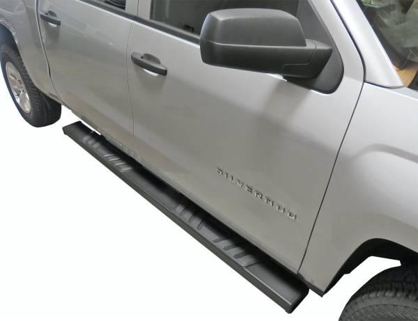 Steelcraft - Steelcraft 500-02230 STX500 Running Boards, Textured Black