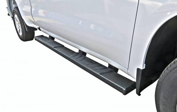 Steelcraft - Steelcraft 500-02240 STX500 Running Boards, Textured Black