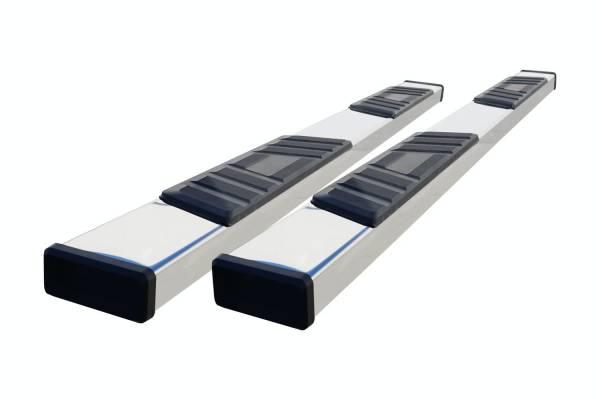 Steelcraft - Steelcraft 500-14207 STX500 Running Boards, Stainless Steel