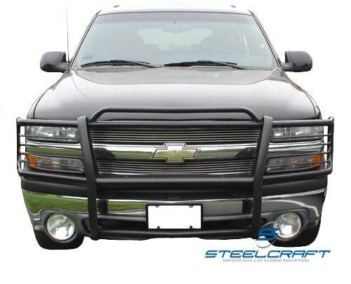 Steelcraft - Steelcraft 50020 Grille Guard, Black