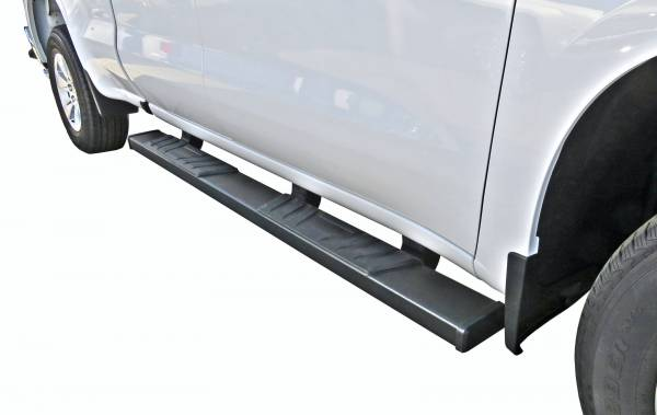 Steelcraft - Steelcraft 500-23700 STX500 Running Boards, Textured Black