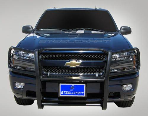 Steelcraft - Steelcraft 50120 Grille Guard, Black