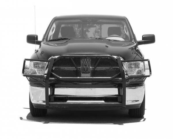 Steelcraft - Steelcraft 50-2250 HD Grille Guards, Black