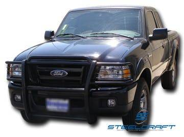 Steelcraft - Steelcraft 51120 Grille Guard, Black