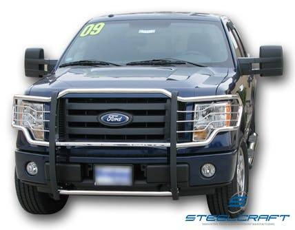 Steelcraft - Steelcraft 51367 Grille Guard, Stainless Steel
