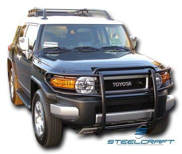 Steelcraft - Steelcraft 53300 Grille Guard, Black