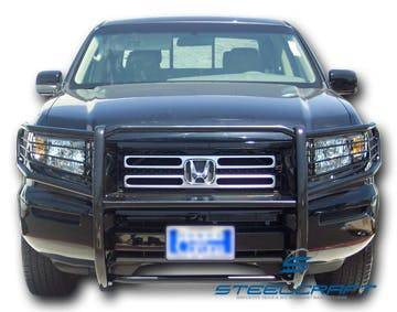 Steelcraft - Steelcraft 55070 Grille Guard, Black