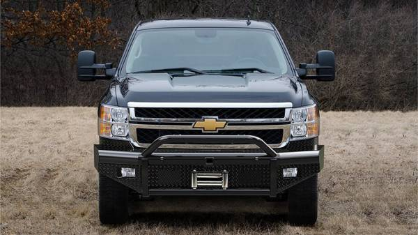 Steelcraft - Steelcraft 55-10410 HD Bullnose Front Bumper, Black