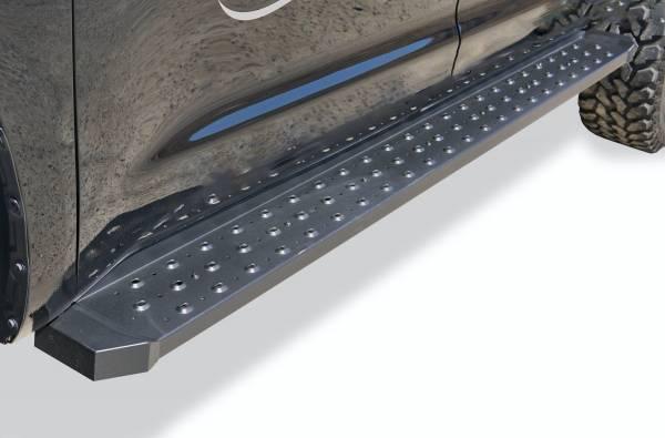 Steelcraft - Steelcraft 600-11700 STX600 Running Boards, Black
