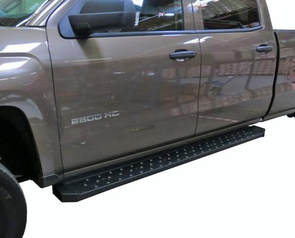 Steelcraft - Steelcraft 600-23300 STX600 Running Boards, Black