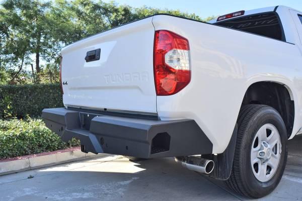 Steelcraft - Steelcraft 65-23380 Elevation Rear Bumper, Fine Textured Black