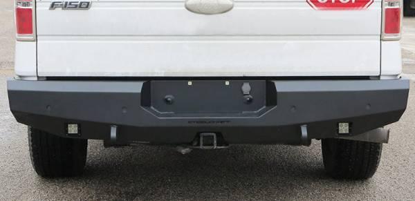 Steelcraft - Steelcraft 76-21360 Fortis Rear Bumper, Textured Black
