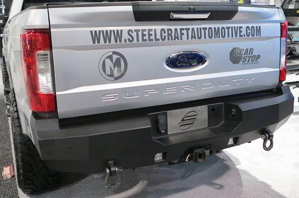 Steelcraft - Steelcraft 76-21380 Fortis Rear Bumper, Textured Black