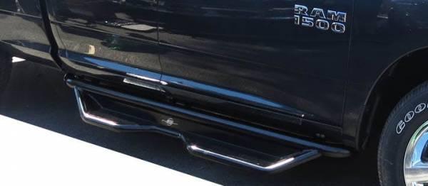 Steelcraft - Steelcraft 80-22600 HD Sidebar, Semi-Gloss Black