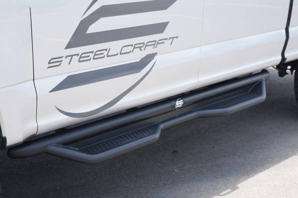 Steelcraft - Steelcraft 80-33100T HD Sidebar, Textured Black