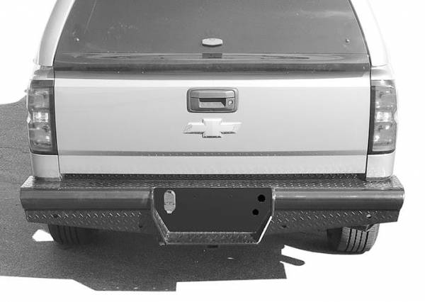 Steelcraft - Steelcraft HD20420 HD Rear Bumper Replacements - Standard, Black