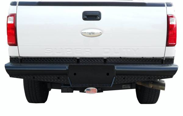 Steelcraft - Steelcraft HD21370 HD Rear Bumper Replacements - Standard, Black