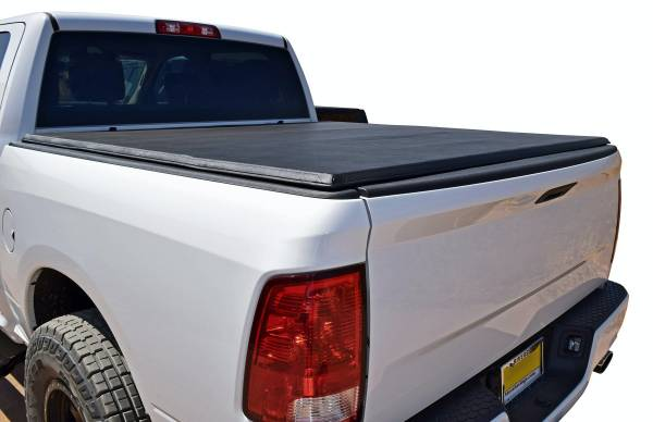 Steelcraft - Steelcraft TN34051 Tri-Fold Tonneau Cover, Black