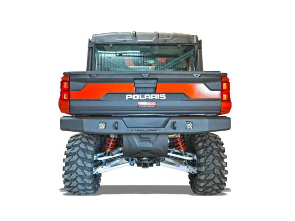 Steelcraft - Steelcraft 65-3000 UTV Rear Bumper Replacement, Fine Textured Black