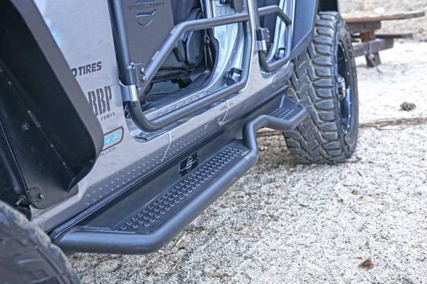 Steelcraft - Steelcraft 80-21901T HD Sidebar, Textured Black
