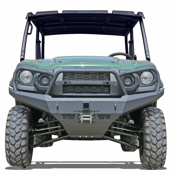Steelcraft - Steelcraft 70-2000 UTV Front Bumper Replacement, Fine Textured Black