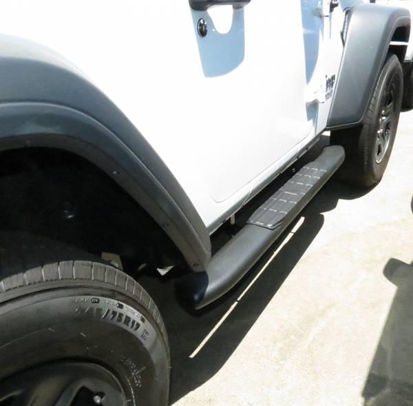 Steelcraft - Steelcraft 40-22400 4X Series Sidebars, Textured Black