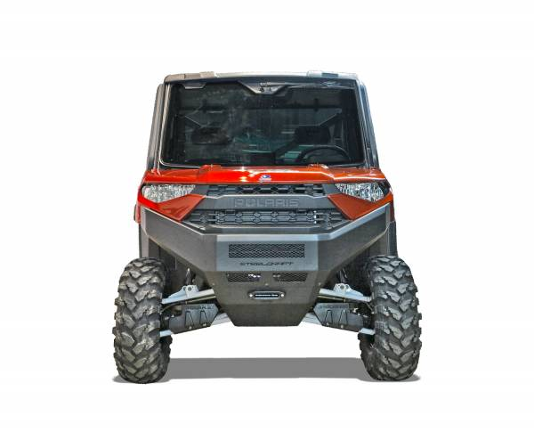 Steelcraft - Steelcraft 70-3000 UTV Front Bumper Replacement, Fine Textured Black