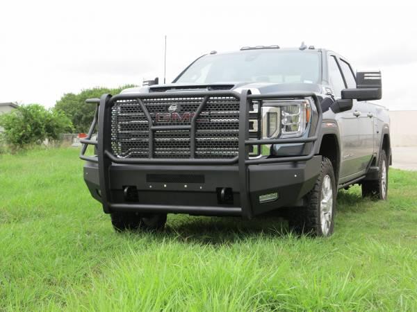 Steelcraft - Steelcraft 60-10465C Elevation Front Bumper, Fine Textured Black