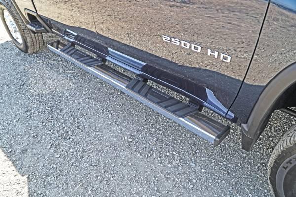 Steelcraft - Steelcraft 500-02297 STX500 Running Boards, Stainless Steel
