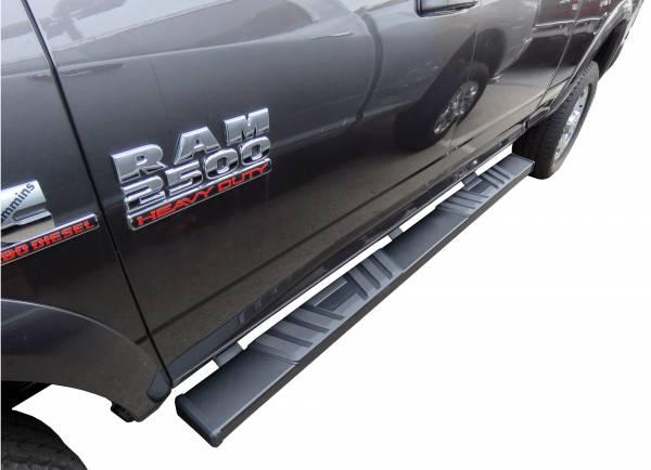 Steelcraft - Steelcraft 500-23300 STX500 Running Boards, Textured Black