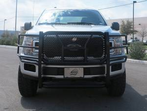 Steelcraft - Steelcraft 50-1420C HD Grille Guards, Black - Image 1