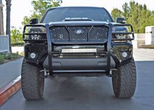 Steelcraft - Steelcraft 50-3370 HD Grille Guards, Black - Image 1